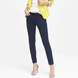 Banana Republic Skinny Navy Sloan Pants